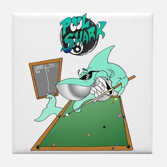 Pool Shark Tile Coaster