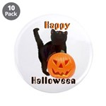 """Trick-or Treat 3.5"""" Buttons (10 pack)"""