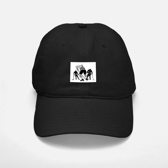 Hockey Players Baseball Hat