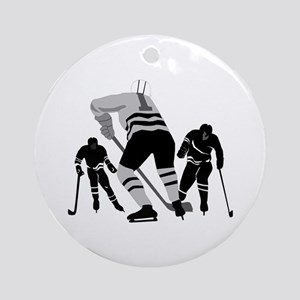 Hockey Players Keepsake (Round)