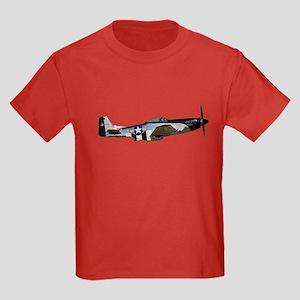 P-51 Mustang Kids Dark T-Shirt