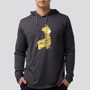 Giraffe Mens Hooded Shirt