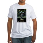 Vintage Promo Poster Fitted T-Shirt