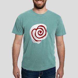 Red White Rose Mens Comfort Colors® Shirt