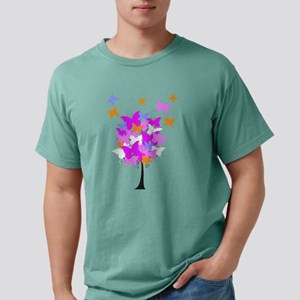 Pink Butterfly Tree Mens Comfort Colors® Shirt