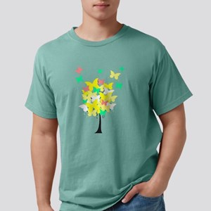 Yellow Butterfly Tree Mens Comfort Colors® Shirt