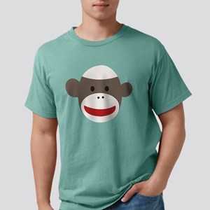 Sock Monkey Face Mens Comfort Colors® Shirt