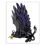 """Dreslough's """"Black Gryphon"""" Small Poster"""