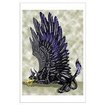 """Dreslough's """"Black Gryphon"""" Large Poster"""