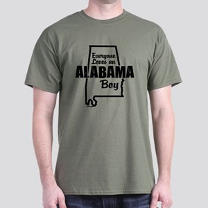 Alabama Boy Dark T-Shirt
