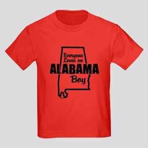 Alabama Boy Kids Dark T-Shirt