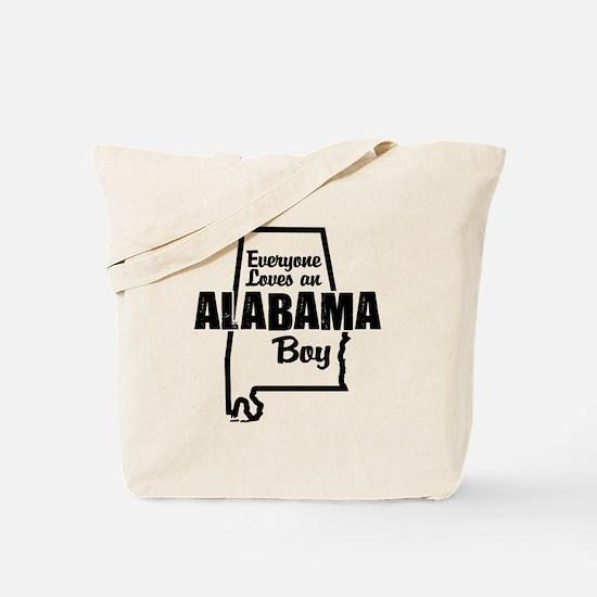 Alabama Boy Tote Bag