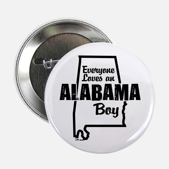 "Alabama Boy 2.25"" Button"