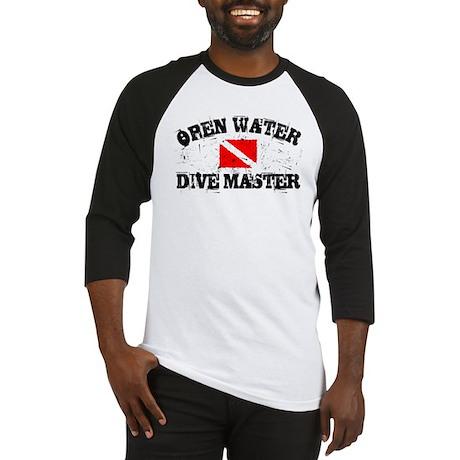 Open Water Dive Master Baseball Jersey