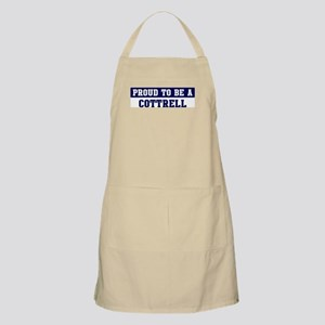 Proud to be Cottrell BBQ Apron