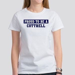 Proud to be Cottrell Women's T-Shirt