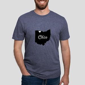 Toledo Ohio Mens Tri-blend T-Shirt