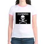 Swimming Pirate Jr. Ringer T-Shirt