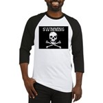 Swimming Pirate Baseball Jersey