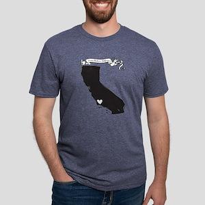 Santa Barbara Mens Tri-blend T-Shirt