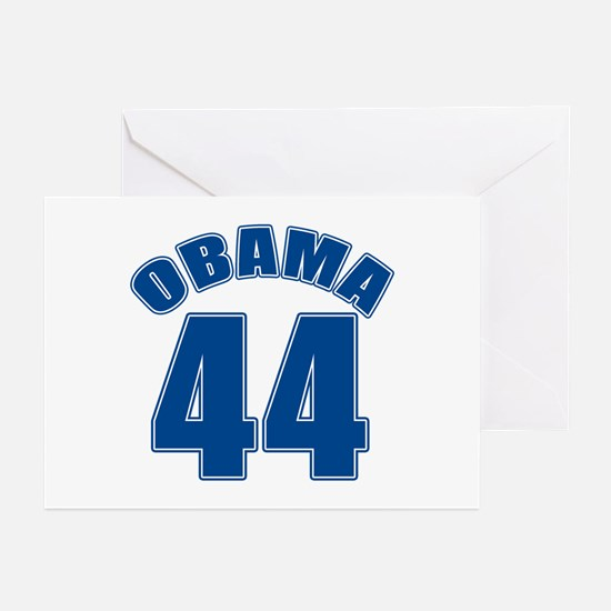 OBAMA 44 44th President Greeting Cards (Pk of 10)