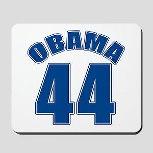 OBAMA 44 44th President Mousepad