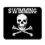 Swimming Pirate Mousepad