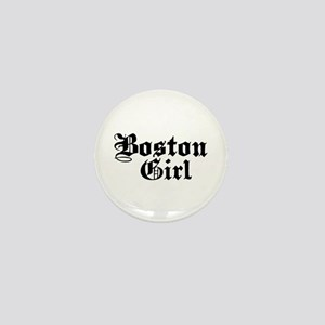 Boston Girl Mini Button