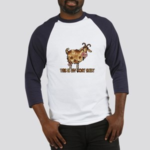 this is my goat shirt Baseball Jersey