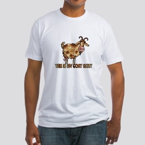 this is my goat shirt Fitted T-Shirt