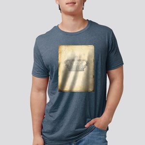 Vintage Royal Crown Mens Tri-blend T-Shirt