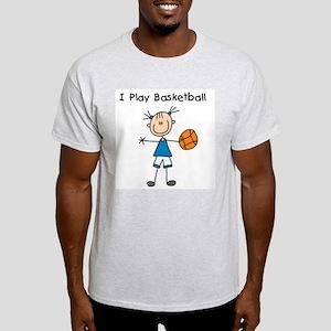 Girl I Play Basketball Light T-Shirt