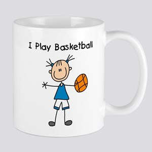 Girl I Play Basketball Mug