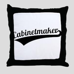 Cabinetmaker Throw Pillow