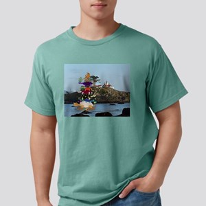 Turtle Stack & California Lighthouse T-Shirt