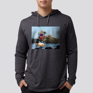 Turtle Stack & California Lighthouse Long Sleeve T