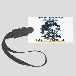 New Jersey - Ship Bottom Large Luggage Tag