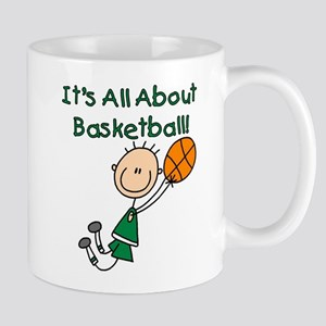All About Basketball Mug