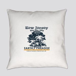 New Jersey - Sea Isle City Everyday Pillow