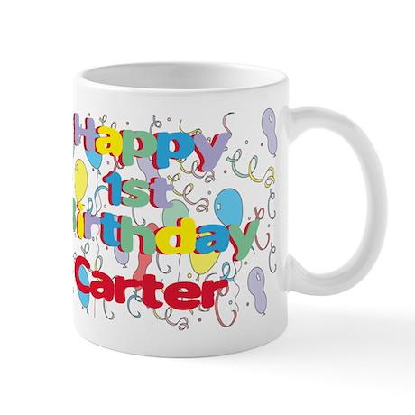 Carter's 1st Birthday Mug