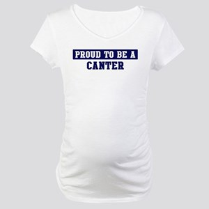 Proud to be Canter Maternity T-Shirt