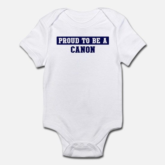 Proud to be Canon Infant Bodysuit