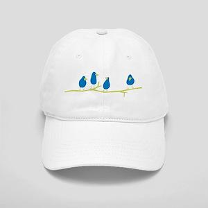 BLUEBIRDS ON A TWIG Cap