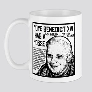 The Pope Has A Posse Mug