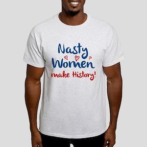 Nasty Women White T-Shirt
