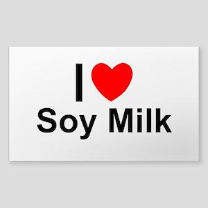 Soy Milk Sticker (Rectangle)