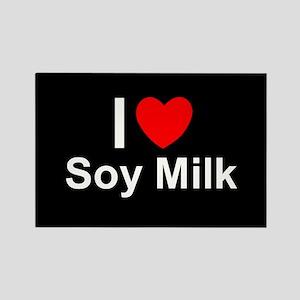 Soy Milk Rectangle Magnet