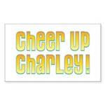Willy Wonka's Cheer Up Charley Rectangle Sticker