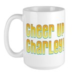 Willy Wonka's Cheer Up Charley Large Mug