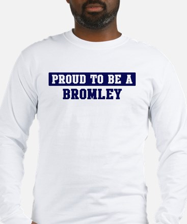 Proud to be Bromley Long Sleeve T-Shirt